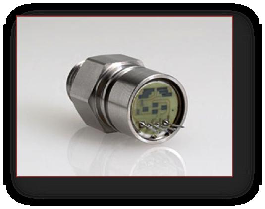 ceramic pressure sensor with housing